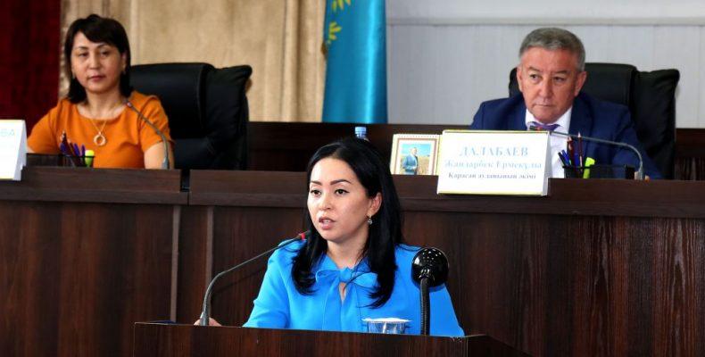 Ақшолпан Марат-филиалтөрағасының бірінші орынбасары