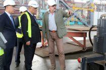 Махаббат Бигельдиев посетил ряд крупных промышленных объектов
