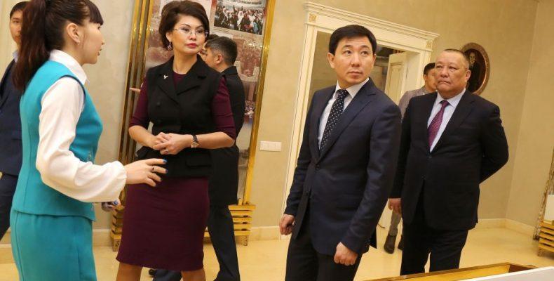 Аида Балаева в гостях у карасайцев