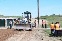 Идёт ремонт дорог (Видео)