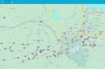 Корпорацией «Литер» разработана интерактивная карта области