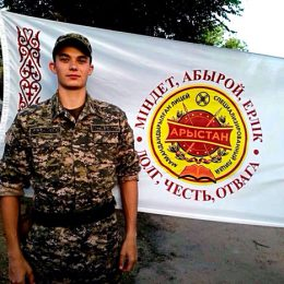 Каскеленец-арыстановец Данил Ковалев