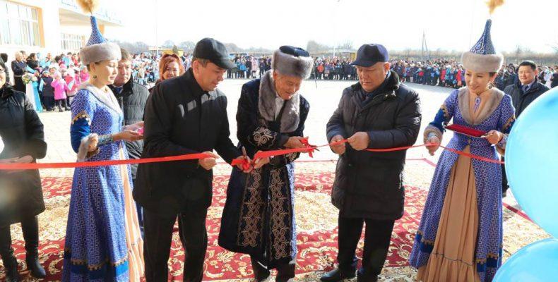 Новая школа в Шалкаре