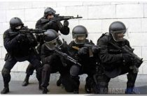 Карасайский районный оперативный штаб проводит антитеррористические учения.